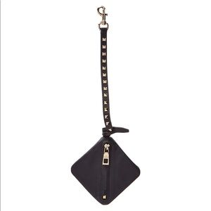 NWT Valentino Lovestud Leather Pouch Bag Charm